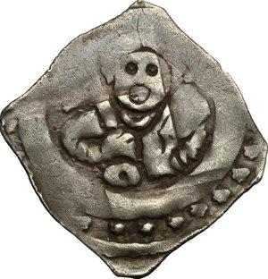 obverse: Germany.  Siegfried, Bishop of Regensburg (1227-1246).. AR Regensburger Pfennig, 1230-1240