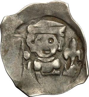 obverse: Germany. AR Regensburger Pfennig, Regensburg mint, 13th century