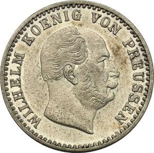 obverse: Germany. Prussia..  Wilhelm I (1861-1888).. AR 2 1/2 Groschen, Berlin mint, 1870