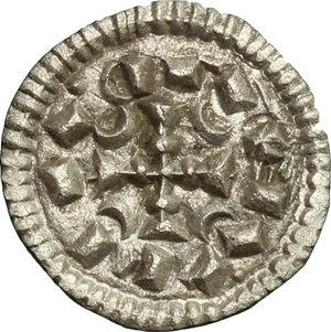 obverse: Hungary.  Koloman (1095-1116).. AR Denar, 1095-1116