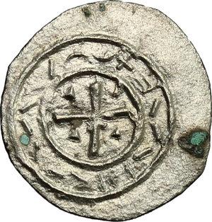 obverse: Hungary.  Stephan II (1116-1131).. AR Denar, 1116-1131