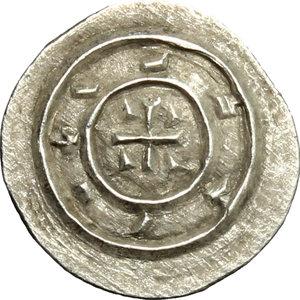 reverse: Hungary.  Stephan II (1116-1131).. AR Denar, 1116-1131