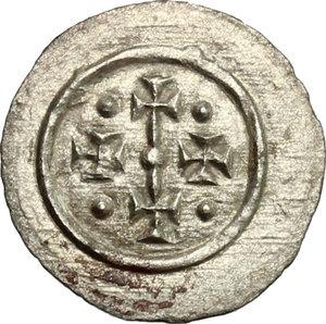 obverse: Hungary.  Geza II (1141-1162).. AR Denar, 1141-1162