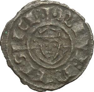 obverse: Italy..  Federico II (1194-1250).. BI Denar, Sicily, Brindisi  mint, 1238-1239