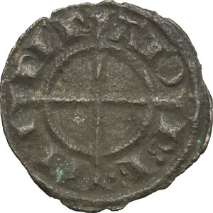 reverse: Italy..  Federico II (1194-1250).. BI Denar, Sicily, Brindisi  mint, 1238-1239