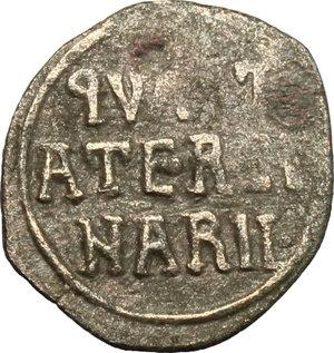 obverse: Italy..  William II of Sicily (1166-1189).. AR Quarter of Tercenario, Sicily, Messina mint