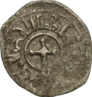 reverse: Italy..  William II of Sicily (1166-1189).. AR Quarter of Tercenario, Sicily, Messina mint