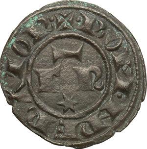 obverse: Italy..  Federico II (1194-1250).. BI Denar, 1247-1248, Messina mint