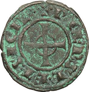 reverse: Italy..  Federico II (1194-1250).. BI Denar, 1247-1248, Messina mint