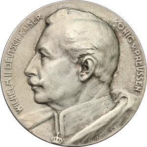 obverse: Germany.  Wilhelm II (1888-1918).. AR Medal, 1913