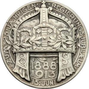 reverse: Germany.  Wilhelm II (1888-1918).. AR Medal, 1913