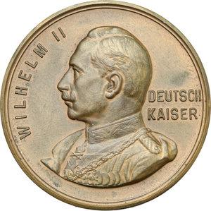 obverse: Germany.  Wilhelm II (1888-1918).. AE Medal, 1914