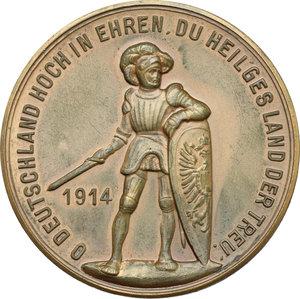 reverse: Germany.  Wilhelm II (1888-1918).. AE Medal, 1914