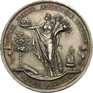 obverse: Netherlands. AR Medal 1771