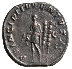Reverse image of coin 172
