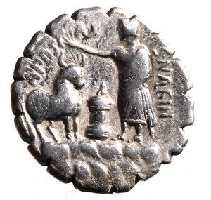 Reverse image of coin 97