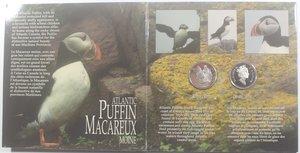 obverse: Canada.50 Centesimi 1995. Uccelli. AG 925. n. 4 pezzi.