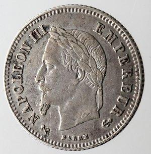 obverse: Francia. Napoleone III. 20 centimes 1866 K. Ag 835.