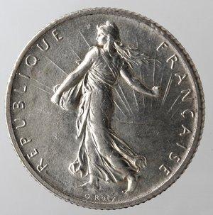 obverse: Francia. Franco 1899. Ag 835.