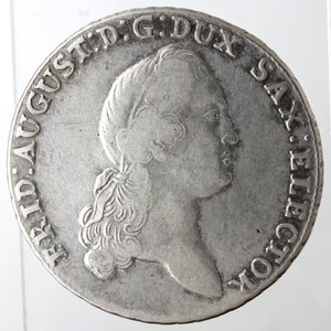 obverse: Germania. Sassonia. Federico Augusto III. Tallero 1778. Ag. Zecca di Dresden