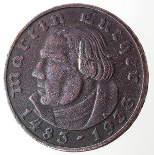 obverse: Germania. 2 Reichsmark 1933. Ag 625.