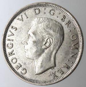 obverse: Gran Bretagna. Giorgio VI. 1936-1952.1\2 Corona 1943. Ag 500.