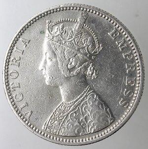 obverse: India britannica. Rupia 1888. Ag 833.