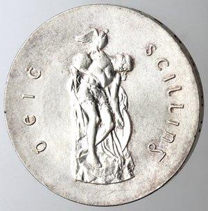 reverse: Irlanda. 10 Scellini 1966. Ag 833.