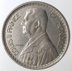 obverse: Monaco. Luigi II. 20 Franchi 1947. Cu-Ni.