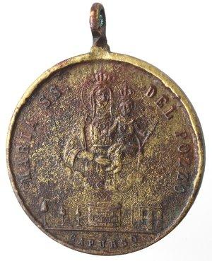obverse: Medaglie. Capurso (BA). Medaglia 1905. Br.