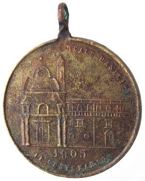reverse: Medaglie. Capurso (BA). Medaglia 1905. Br.