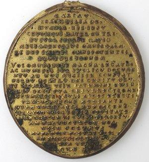 reverse: Medaglie. Messina. Medaglia Devozionale S. Maria della Lettera. Br dorato