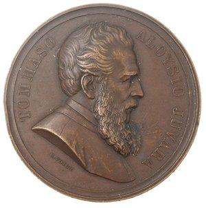 obverse: Medaglie. Messina 1873. Ae.
