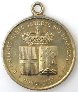 obverse: Medaglie. Moncalieri (TO). Medaglia Premio 1908. Ag? Dorato.