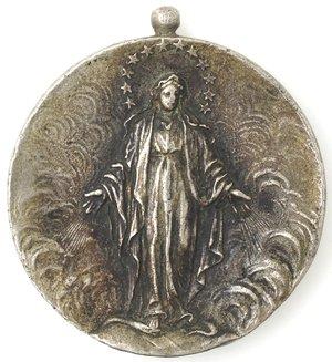 obverse: Medaglie. Napoli. Medaglia 1909. Associazione dell Immacolata a Chiaia