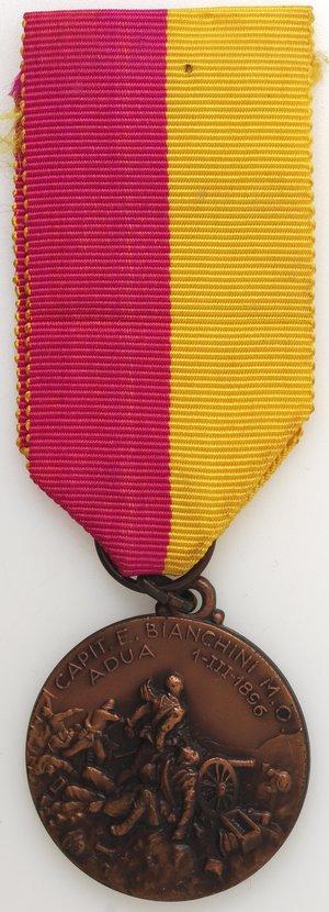 obverse: Medaglie. Napoli. Medaglia 1958. Ae. X° Raduno Nazionale artiglieri - Battaglia Adua.