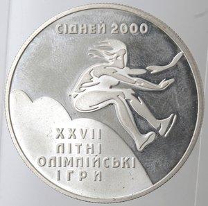 reverse: Ukraina. 10 Hryven 1999. Ag. 925.
