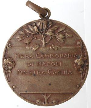 obverse: Medaglie. Napoli. Fiera campionaria. Ae.