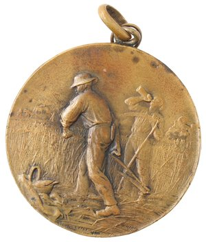 reverse: Medaglie. Portici (NA). Medaglia 1912. R. Scuola Superiore d Agricoltura in Portici