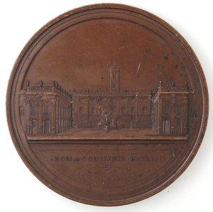 obverse: Medaglie. Roma. Congresso Giuridico Italiano 1872.