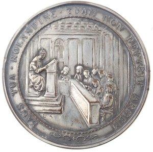 obverse: Medaglia 1924. Metallo argentato. Conferita a Aldo Oviglio,