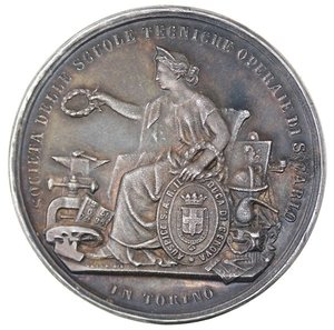 obverse: Medaglie. Torino. Medaglia 1879. Ag.