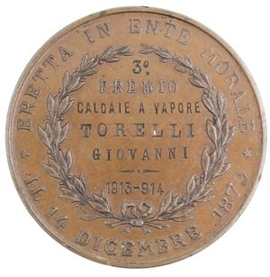 reverse: Medaglie. Torino. Medaglia Premio.