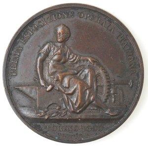 obverse: Medaglie. Torino. Prima Esposizione Operaia Italiana - Torino 1890.