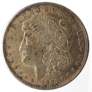 obverse: Usa. Dollaro Morgan 1921. Ag. 900.