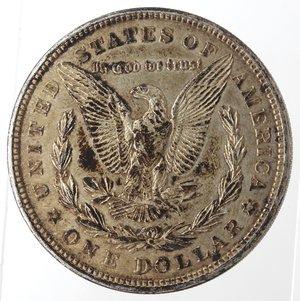 reverse: Usa. Dollaro Morgan 1921. Ag. 900.