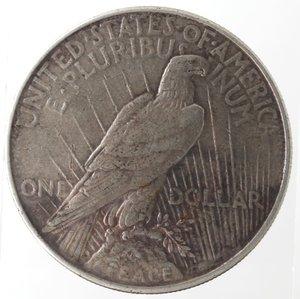 reverse: Usa. Dollaro Peace 1922. Ag. 900.