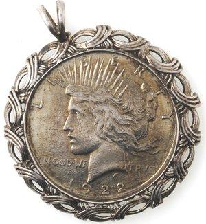 obverse: Usa. Dollaro Peace 1922. Ag. 900.