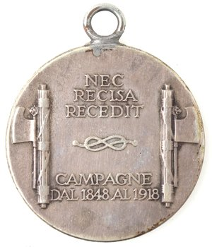 reverse: Medaglie fasciste. Medaglia. 1930 A. VIII. Ae Argentato.