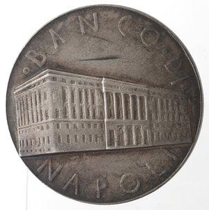 obverse: Medaglie fasciste. Medaglia Napoli. 1939. Banco di Napoli. Ag.
